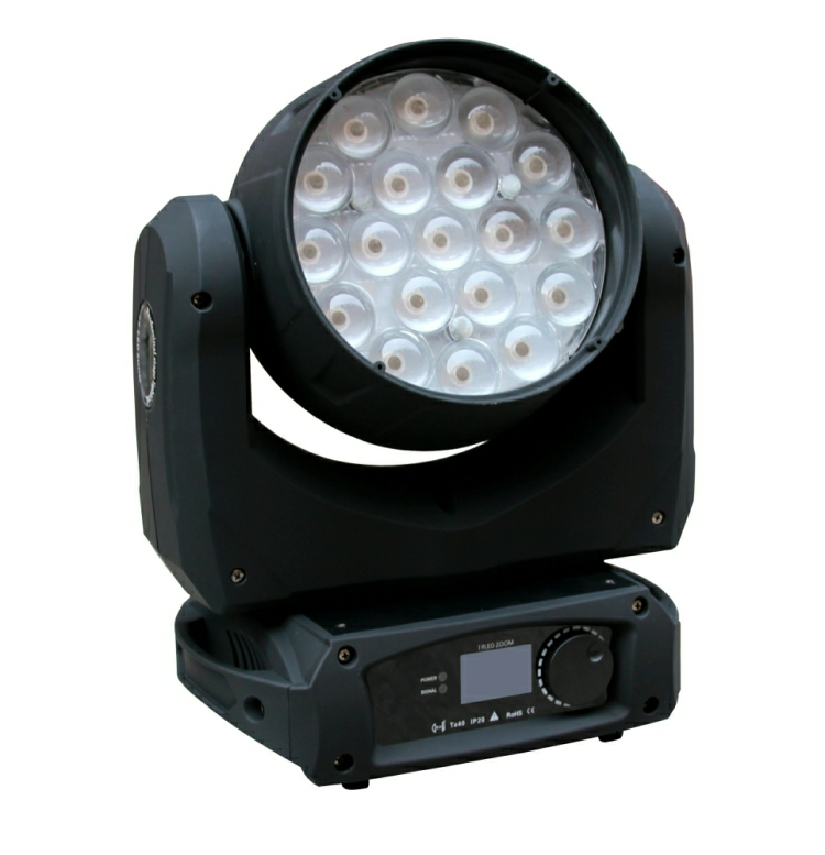 Viking VK1910 Halo 19 x 10w Led Wash Light with Backlight